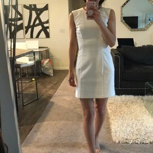 French Connection white mini dress